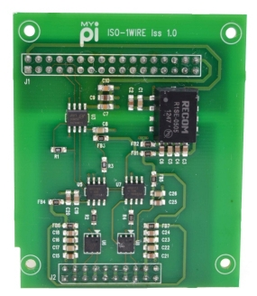 Isolated 1-Wire Industrial Raspberry Pi IO Card
