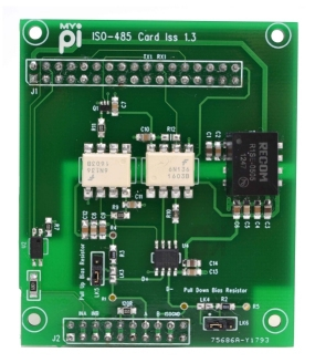 Isolated RS485 Modbus Industrial Raspberry Pi IO Card