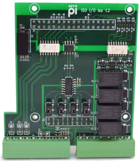 Isolated Digital Input Industrial Raspberry Pi IO Card
